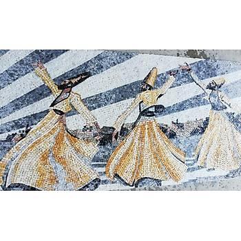 Semazen Mozaik Çalýþmasý 80x150