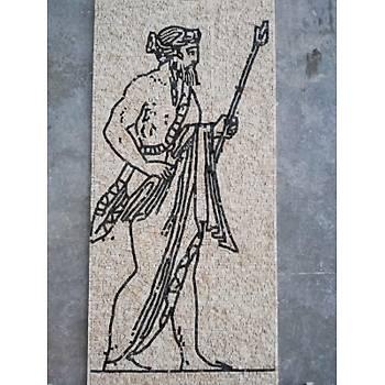 Zeus Mozaik Çalışması 80 x 180