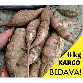 6 KG LIK KOLÝ TATLI PATATES KARGO BEDAVA !