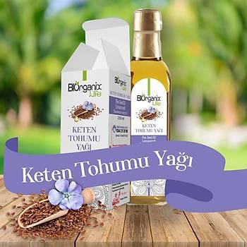 Biorganix Life Keten Tohumu Yaðý 250 Ml Soðuk Pres Flax Seed Oil
