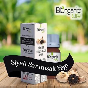 Biorganix Life Siyah Sarýmsak Yaðý 20 Ml Black Garlic Oil