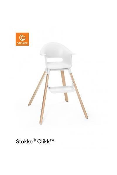 Stokke Clikk Mama Sandalyesi / White