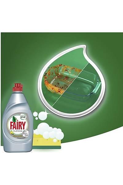 Fairy Platinum Sývý Bulaþýk Deterjaný Limon 870 ml 9'lu