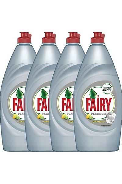 Fairy Platinum Sývý Bulaþýk Deterjaný Limon 870 ml 4'lü