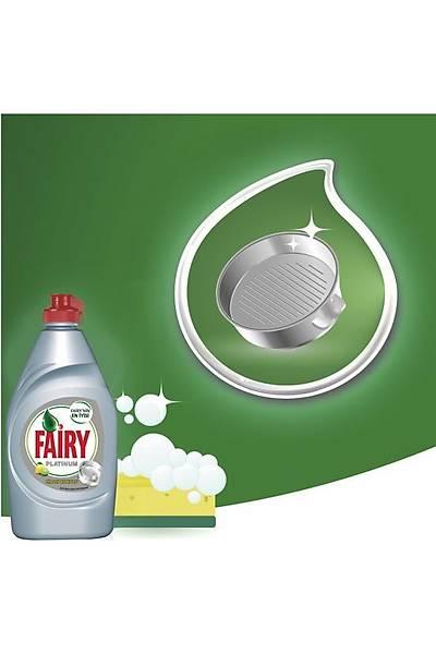 Fairy Platinum 870 ml Sývý Bulaþýk Deterjaný Limon