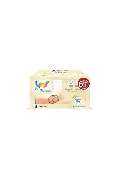 Uni Baby Yenidoðan Islak Pamuk Mendil 6+1 Fýrsat Paketi / 280 Yaprak