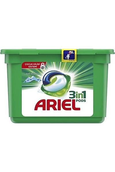 Ariel 3'ü 1 Arada Pods Sývý Çamaþýr Deterjaný Kapsülü Dað Esintisi 12 Yýkama
