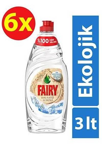 Fairy Ekolojik Sývý Deterjan 500 ml x 6 Adet