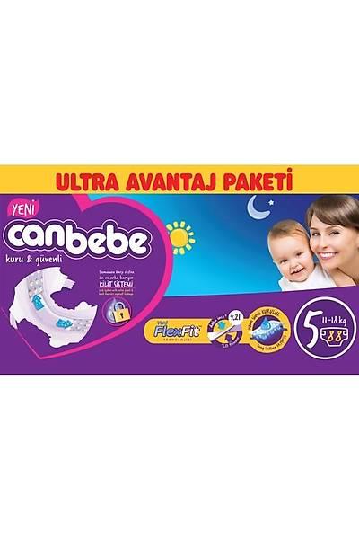 Canbebe Ultra Avantaj Paketi 5 Junior 11-18kg (88 Adet)
