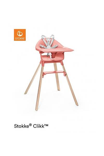 Stokke Clikk Mama Sandalyesi / Sunny Coral
