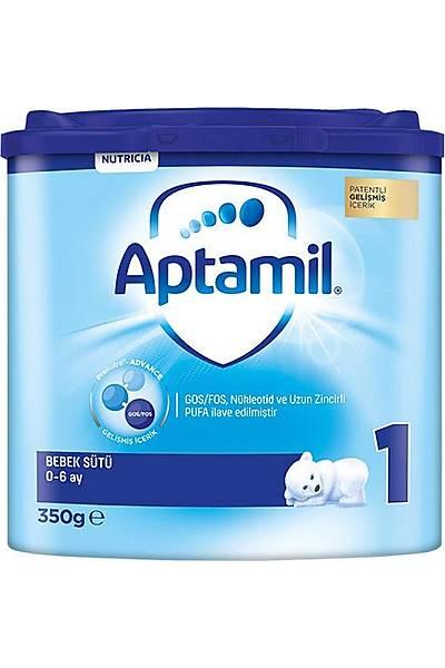 Aptamil 1 Akýllý Kutu Bebek Sütü 350 gr 0-6 Ay