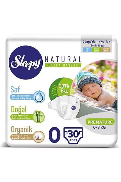 Sleepy Natural Bebek Bezi 0 Numara Prematüre