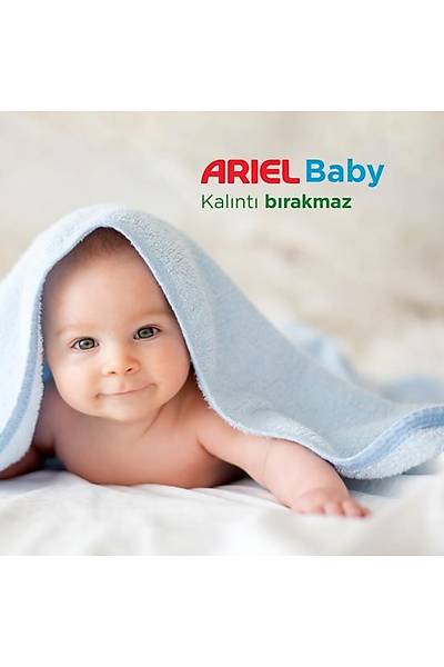 Ariel Baby 4 x 20 Yýkama (80 Yýkama) Sývý Çamaþýr Deterjaný Bebekler Ýçin