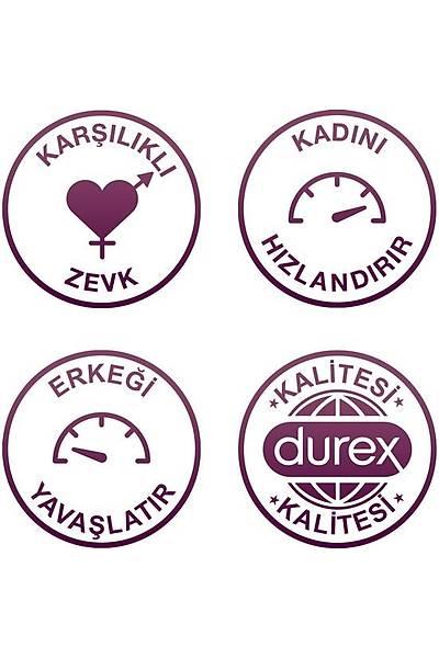 Durex Karþýlýklý Zevk Geciktiricili Prezervatif 20'li Avantaj Paketi