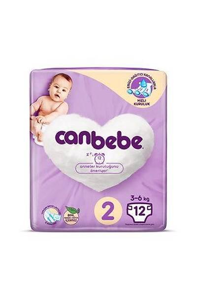 Canbebe Standart Paket Mini 3-6 Kg 12'li