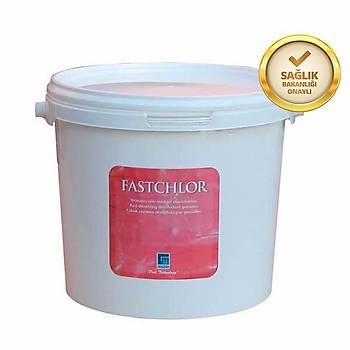 Granül Klor - Fastchlor Diklor %56 - 25Kg