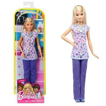 Barbie Kariyer Bebekleri Hemþire DVF57