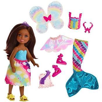 Barbie Dreamtopia Chelsea ve Kýyafetleri FJD01
