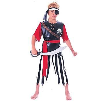 Korsan Çocuk Kostüm Small 4-6 Yaþ