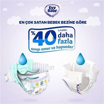 Evy Baby 5 Beden Junior Ultra Fýrsat Paketi 120 Adet