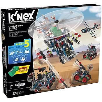 K'Nex 5 in 1 Model Savaþ Seti (Motorlu) Building Set Knex 31480