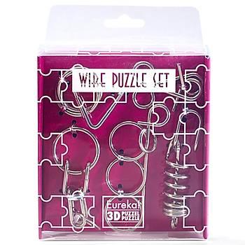 Eureka Wire Puzzle Set-Purple 3D Puzzle