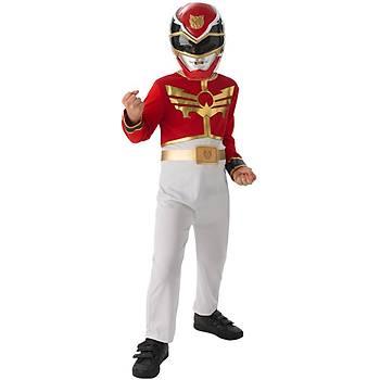Rubies Power Rangers Red Ranger Çocuk Kostümü (127-137 cm)