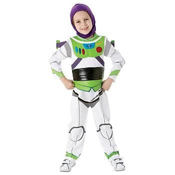Toy Story Buzz Çocuk Kostüm Lüks 7-8 Yaþ