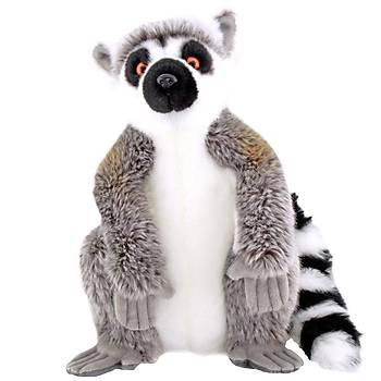 Animals Of The World Oturan Lemur Peluþ Oyuncak 28 cm
