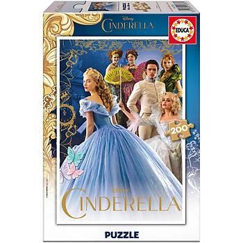 Educa Çocuk Puzzle Simli Karton 200 Cindirella