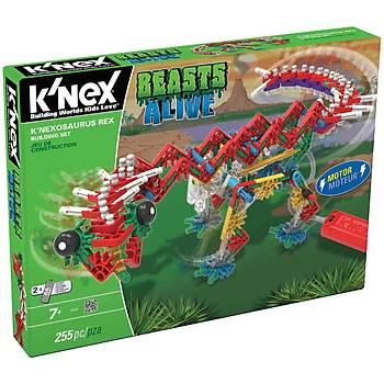 K'Nexosaurus Rex Yapým Seti (Motorlu) Beasts Alive Knex 15588