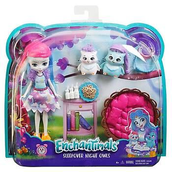Enchantimals Ohana Owl Piknikte Oyun Seti
