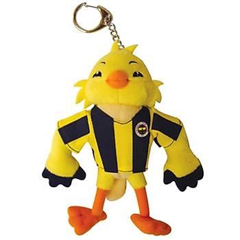 Fenerbahçe Lisanslý Kanarya Peluþ Anahtarlýk 14 cm