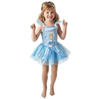 Prenses Cinderella Balerin Çocuk Kostüm 12-24 Ay