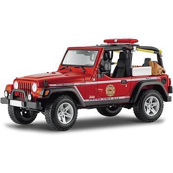 Maisto 2003 Jeep Wrangler Rubicon 1:18 Model Araba P/E Kýrmýzý