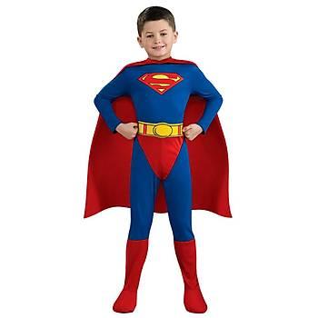 Superman Çocuk Kostüm 12-14 Yaþ