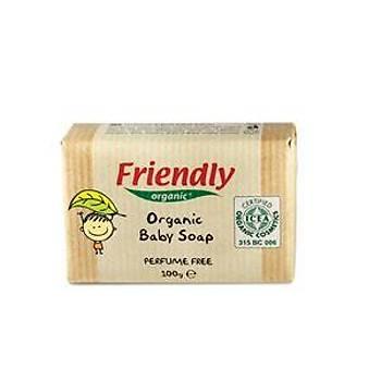 Friendly Organic Parfümsüz Bebek Sabunu - 100 gr
