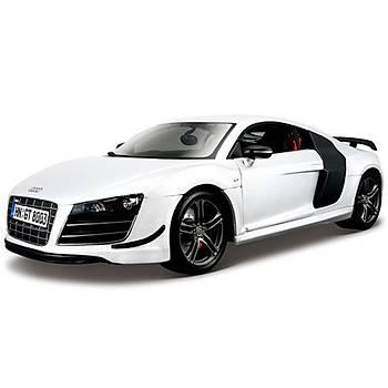 Maisto Audi R8 Gt3 1:18 Model Araba P/E Beyaz