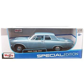 Maisto 1963 DODGE 330 1:18 Model Araba