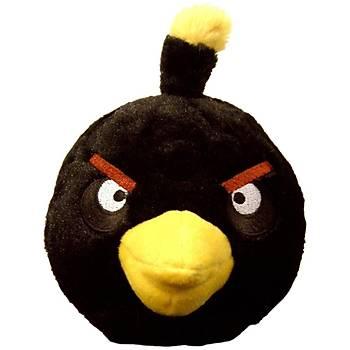 Angry Birds Siyah Kuþ Sesli Peluþ 12 cm