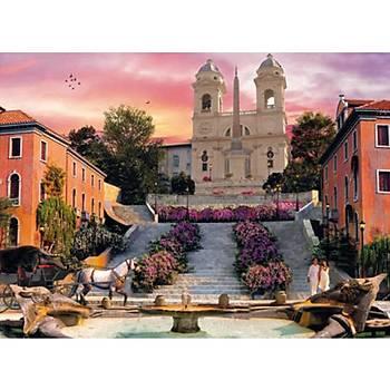 Clementoni 1000 Parça Puzzle Romantik Ýtalya Roma