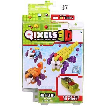 Qixels Alien Strikers 3D Yedek Paket