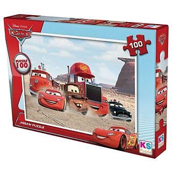 Ks Puzzle Cars 100 Parça Çocuk  Puzzle