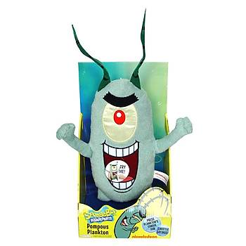 Plankton Elektronik Peluþ Figür