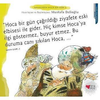 Nasreddin Hoca Bir Gün-2 Mustafa Delioðlu Can Sanat Yayýnlarý
