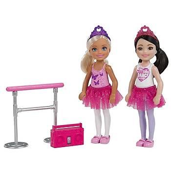 Barbie Club Chelsea Ve Arkadaþlarý 2'li Bebek Oyun Seti FHK98