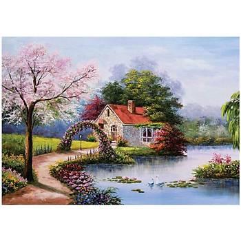 KS Puzzle Lake House 1000 Parça