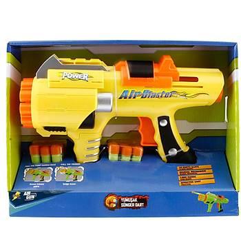 Sunman Air Gun 10 Slotlu Oyuncak Silah Sarý