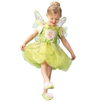 Tinker Bell Platinium Çocuk Kostüm 3-4 Yaþ