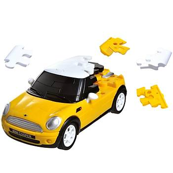 Eureka 3D Araba Puzzle Mini Cooper Sari
